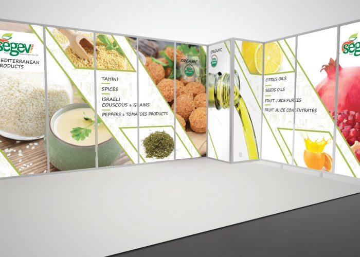 SEGEV FOOD - עיצוב ביתן בגרמניה