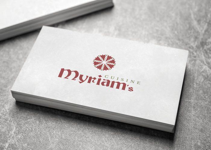 מרים - עיצוב לוגו ושפה גרפית לעסק  בישול מרוקאי