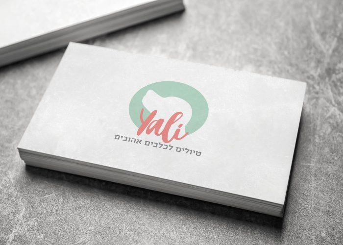 YALI - עיצוב לוגו ושפה גרפית לילי עסק לדוגיסיטר